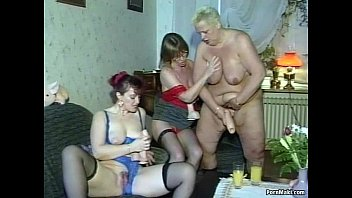 tits pop out granny orgy