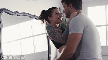 busty tattooed babe cheats on husband pornbusters with coworker - wickedpictures