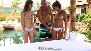 purnhub hd pornpros - tali dova and ariana marie hot fuck session by the pool