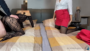 cuckold business trip with freesexvideo secretary business-bitch