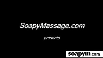 pornhuh  amazing body in a hot soapy massage 1