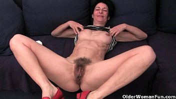 granny hides a full bush in her wtchporn soaked panties