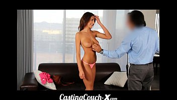 castingcouch-x teen fucked first time on retdube cam for