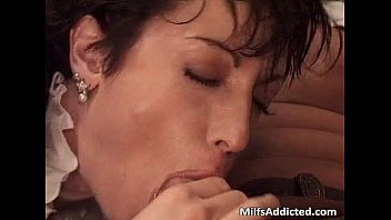 great short naked girl band haired milf got banged after