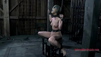 gagged hottie bf xxr6 20 gets her racks bounded and clamped