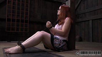 lusty playgirl is tying up sweet playgirl for kral sex t. session