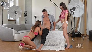 anal and beyond - sexysex assistant seduces model and photographer