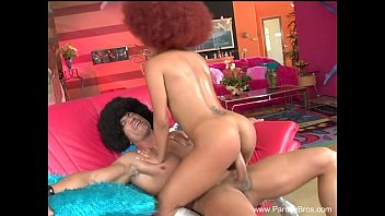 afro teenpornbb chick fucked hard by white brother