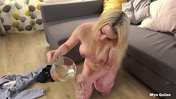 mya quinn mixing naughty america porn download and drinking piss cocktail wearing anal plug