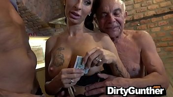 dirty old gunther and his sasha grey naked fucked up family
