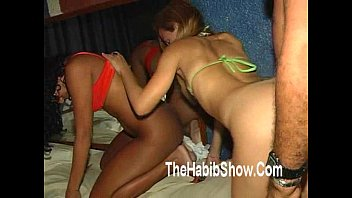 brazilian 3-some blowing a creampie deep in the neighbors teenage daughter orgy part2