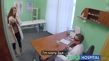 fake hospital doctor denies landan sex antidepressants and prescribes a good licking and a
