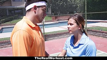 therealworkout - son fuck sleeping mom keisha grey pounded after playing tennis