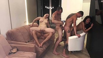 yuojizz com part 3 girls served 3 cocks and were covered in cum..... katty west and oliver strelly