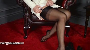 posh sexy new video download milf leggy lana teases in sheer nylons then fucks pussy