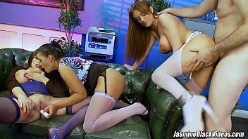office xvxxx orgy with 3 busty secretaries paige ashley