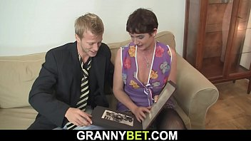 her shaggy old livehdcams pussy is filled with big man meat
