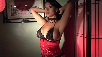 babe masturbates in stockings gloves javbz and a corset