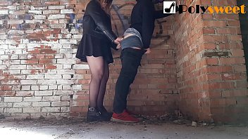 xnxxmovies fucked her bf in an abandoned building pegging