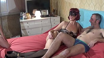 hot mature woman fucked by two cocks getting reddtube a lot of facial cumshot