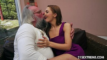 old yuopor man bangs dominica fox s tight young pussy