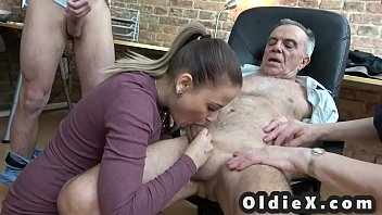 russian family nudist old and young foursome