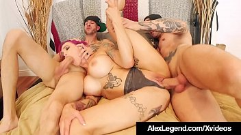 inked milf anna bell peaks wrecked www xvidio com by alex legend and bro