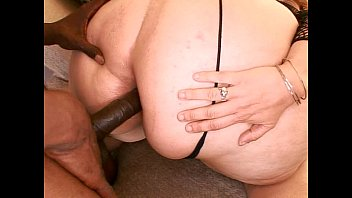 beegg fat slut gets drilled with black cock