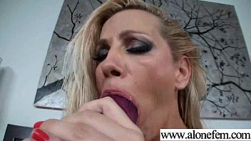 hot single girl having fun with vichatter flash sex dildos and toys clip-22