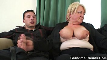 threesome 2xvideos orgy with granny