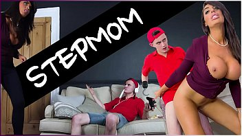 bangbros - sam bourne show me x rated movies s step mom ava koxxx takes control of the situation