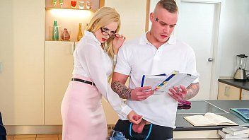 kinky redwap apps tutor - hot milf angel wicky seduces and bangs student