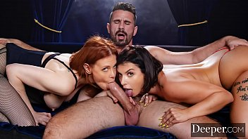 deeper. maitland ward brazzers mp4 download passionate threesome with ivy lebelle