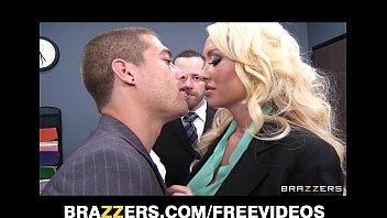 incredibly hot blonde summer brielle can t resist abella danger nude her co-worker