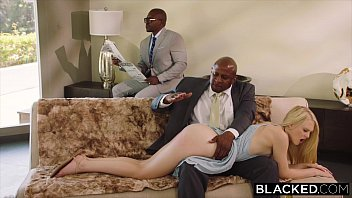blacked submissive girlfriend punished by two chicas sexis desnudas black men