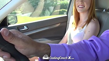 castingcouch-x - redhead anny aurora gets gina carano nude her pussy fucked is audition