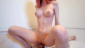hot redhead girl swallows cum after hard fuck - alexis dziena nude cum in mouth